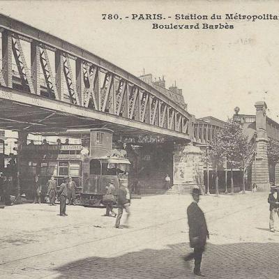 JH 780 - Station du Metropolitain Bd Barbès