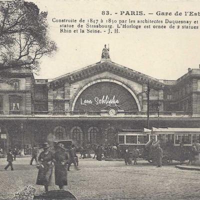 JH 83 - Gare de l'Est