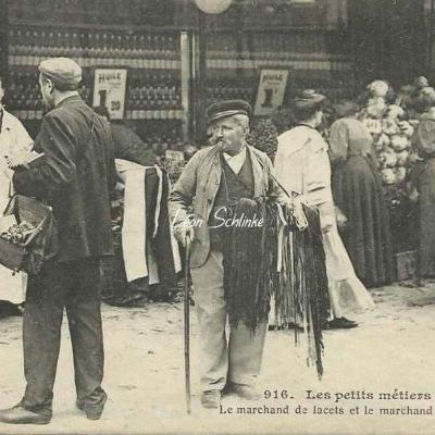 JH 916 - Le marchand de lacets et le marchand de carnets