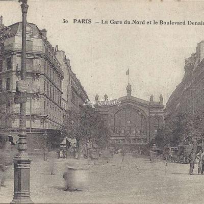 JMT 30 - La Gare du Nord et le Boulevard Denain