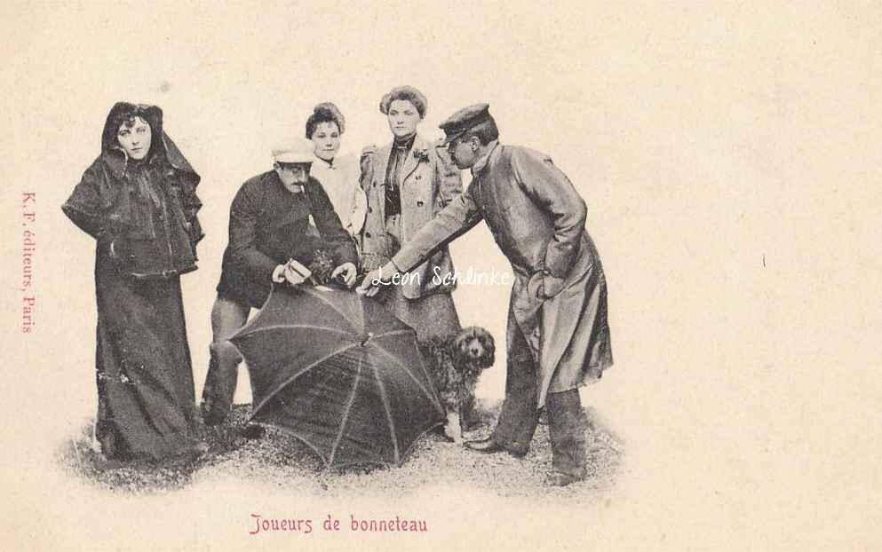 Joueurs de bonneteau
