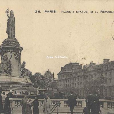 Jules Séeberger 26 - Place et Statue de la République