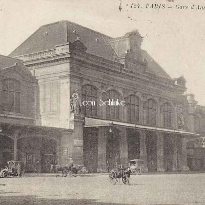 L'Abeille 124 - Gare d'Austerlitz