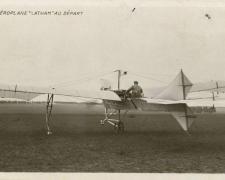 L'Aéroplane Latham au départ