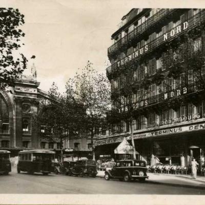 L'Aigle 199 - PARIS (10°) La gare du Nord et l'hôtel Terminus-Nord
