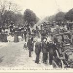 LL 470 - L' Avenue du Bois de Boulogne - Le Retour des Courses