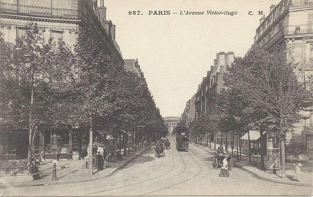CM 987 - L'Avenue Victor Hugo