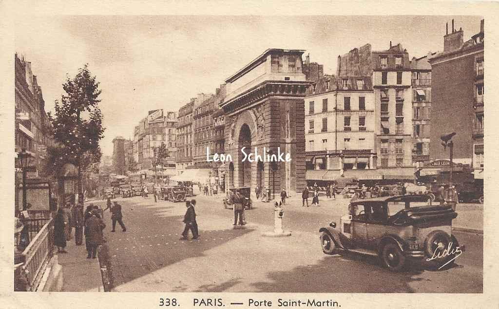 Saint martin for Porte saint martin