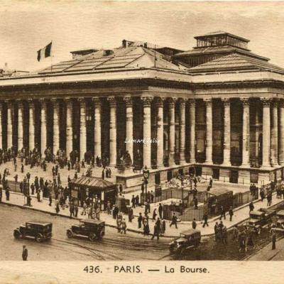 L. BOISSON 436 - PARIS - La Bourse