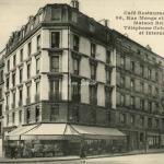 L.Boisson - Café-Restaurant MIRBEL, Maison Brilleteau