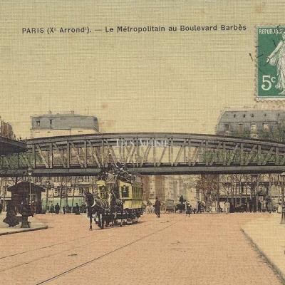 L.C. - Le Métropolitain au Boulevard Barbès
