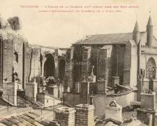 L'Eglise de la Dalbade dans son état actuel 11 Avril 1926