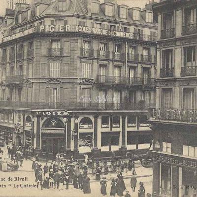 L et O 80 - Rue de Rivoli Station Métropolitain ''Châtelet''
