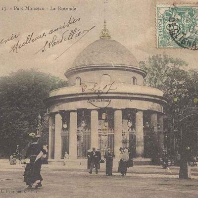 L.F.&V. 13 - Parc Monceau - La Rotonde