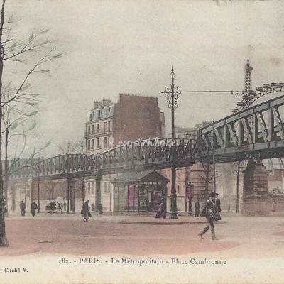L.F. & V. 182 - Le Métropolitain - Place Cambronne
