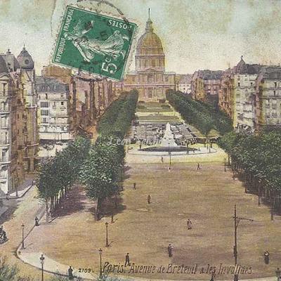 L.V. & Cie 2109 - Avenue de Breteuil et les Invalides