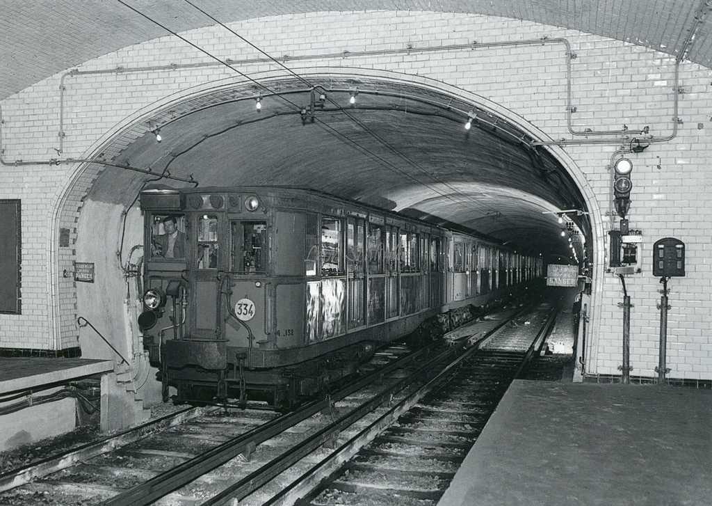 L7 - Rame Sprague entrant en Station