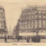 Carte-correspondance - La Chaussée d'Antin -  Galeries Lafayette