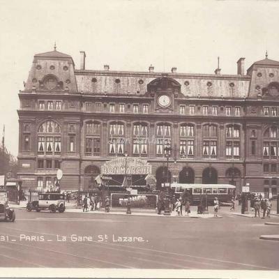 La Cigogne 131 - La Gare St-Lazare