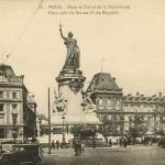 La Cigogne 18 - PARIS - Place et Statue de la République