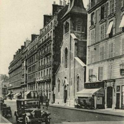 La Cigogne 364 - Rue Brémontier - Eglise St-François de Salle