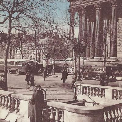 JAN 51 - La Madeleine et le Boulevard