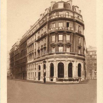 LA NATION, siège social - 7 et 9 Rue de Rome, PARIS