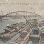 CM 507 - La Passerelle du Metropolitain au Pont d'Austerlitz