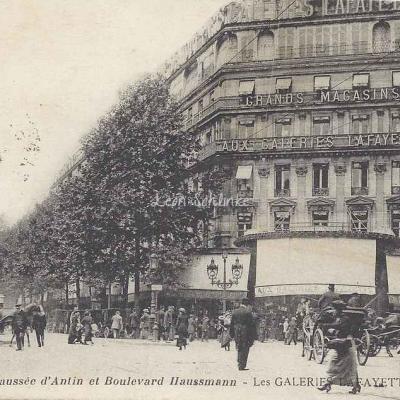 La Pensée 43 - Chaussée d'Antin et Boulevard Haussmann