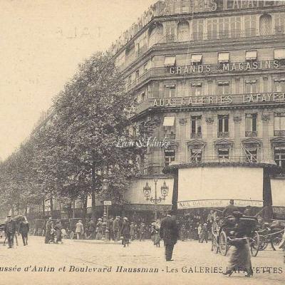 La Pensée 44 - Chaussée d'Antin et Boulevard Haussmann