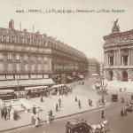 AN 285 - La Place de l'Opéra et Rue Auber