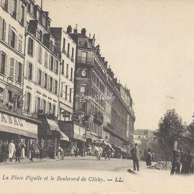 LL 83 - La Place Pigalle et le Boulevard de Clichy