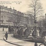 CM 417 - La Place Pigalle (Sculpteur 1714-1785)