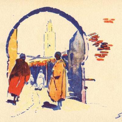 La Porte et le Minaret