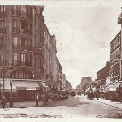 JAN - La rue d Avron au Boulevard Davout