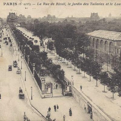 CM 248 - La Rue de Rivoli, Jardin de Tuileries et Louvre
