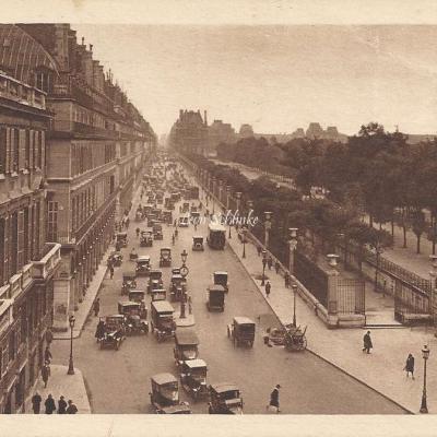 MONA - Petits tableaux de Paris - La Rue de Rivoli