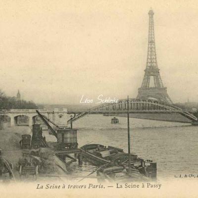 La Seine à Passy