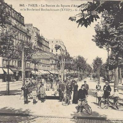 GI 940 - La Station du Square d'Anvers