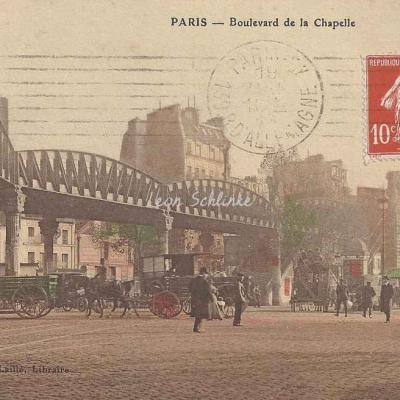Laillé édition - Boulevard de La Chapelle ''La Villette''