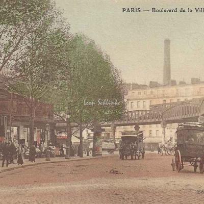 Laille lib. - Boulevard de la Villette