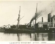 Aviso LAMOTTE PICQUET  1860