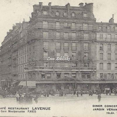 Lavenue - Hôtel Café Restaurant - Gare Montparnasse