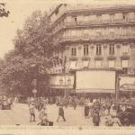 LD 23 - Le Boulevard Haussmann au Carrefour de la Chaussée d'Antin