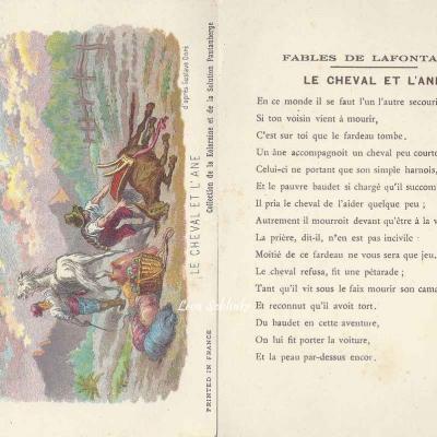 Le Cheval et l'Ane
