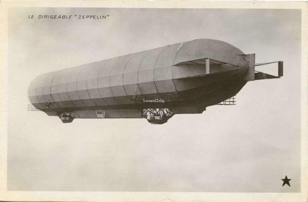 Le Dirigeable Zeppelin