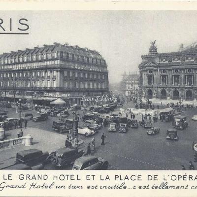 CAP - Le Grand Hotel et la Place de l'Opéra