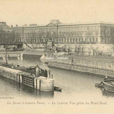 Le Louvre. Vue prise de Pont-Neuf