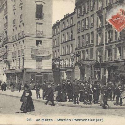 CP 926 - Le Metro - Station Parmentier