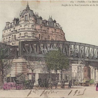 Le Metropolitain Angle Lecourbe et Pasteur